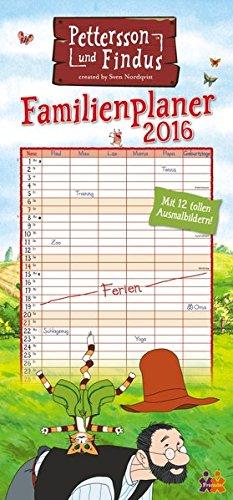 Pettersson & Findus Familienkalender 2016