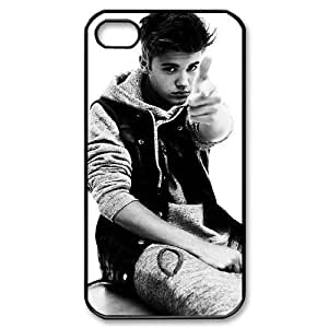 Justin Bieber The Unique Printing Art Custom Phone Case for Iphone 4,4S,diy cover case ygtg-700382