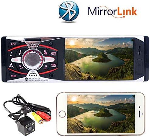カーラジオ4.1インチのHDのTFTスクリーンカーラジオ12VのオーディオプレーヤーMp5車のステレオMP3 MP4プレーヤーSD / USB/AUX IN 4011Rリアビューカメラ付き