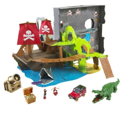 Mattel Matchbox 360 Pop-Up Pirate Island