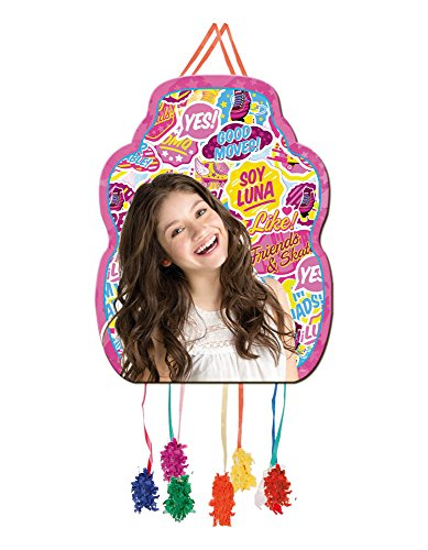 Soy Luna Pull String Paper Pinata 13x18in