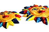 Set of Jester Suns! - Ceramic Suns Hand Painted In Spain