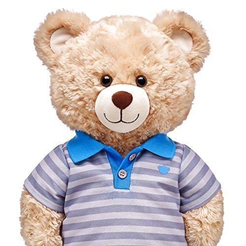 Build-a-Bear Workshop Grey Stripe Collared (Boy Build A Bear)