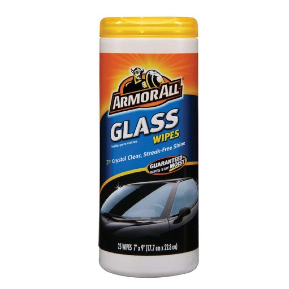 Armor All Glass Wipes (10865) by Armor All B0002JM5K2  25 Ct.