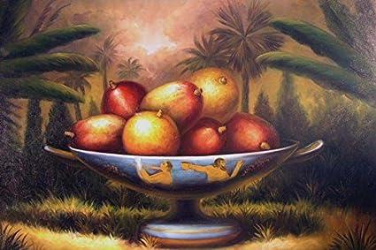 Amazon Com 100 Hand Painted Greek Roman Fruit Bowl Classic Still