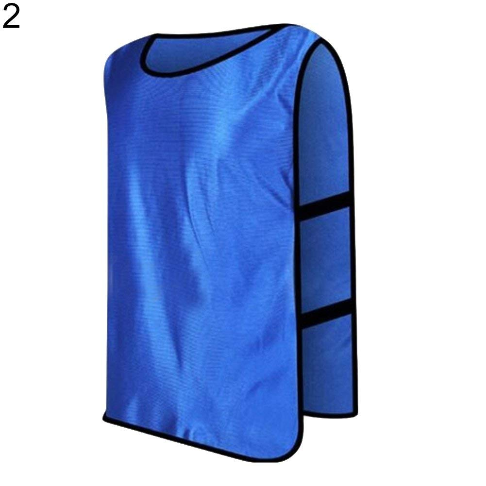 Yevison Sports Training Bibs Vests,Multi-Sport Quick-Drying Vest For Soccer Football Basketball Team Uniform Shirt Durable and Practical