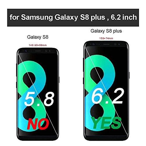 Galaxy S8 Plus Case, LONTECT Slim PU Leather Magnetic Closure Stand Flip Wallet Protective Case Folio Cover with Card Slot for Samsung Galaxy S8 Plus