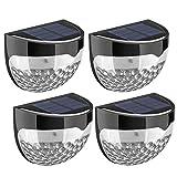 Litom Solar Fence Lights, Decorative Lights LED Garden Lights, Waterproof Solar Lights Wireless...