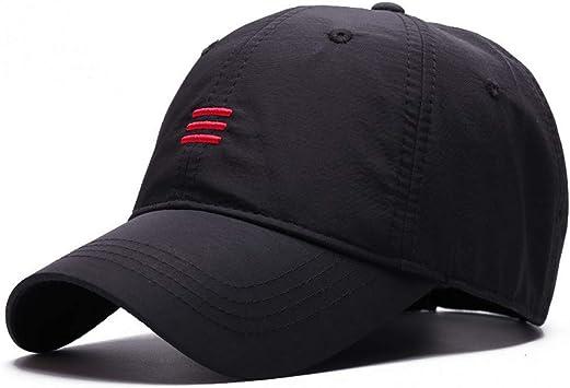 Zhangbqm Gorra De Beisbol Sombrero De Talla Grande Para Hombre Adulto Verano Al Aire Libre Seco Tela Delgada Y Delgada Sombrero Para El Sol Hombre Tallas Grandes Gorras De Beisbol Amazon Es Deportes