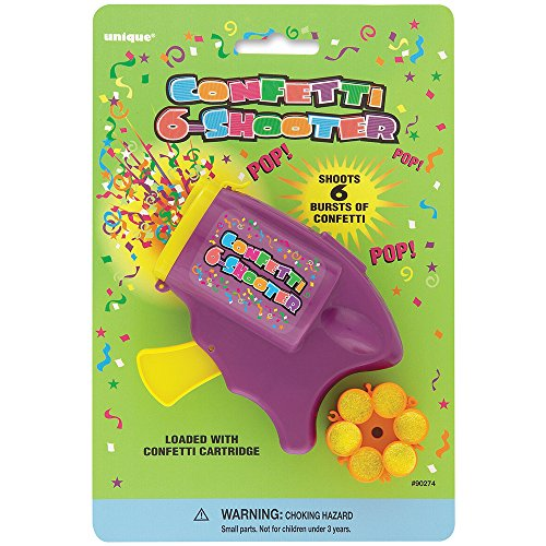 Confetti Six Shooter 12 Rounds