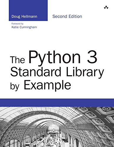 Book cover of The Python 3 Standard Library by Example (Developer's Library) by Doug Hellmann