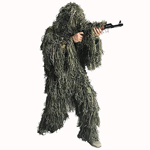 Auscamotek Ghillie Suit for Kids Gilly Suit for