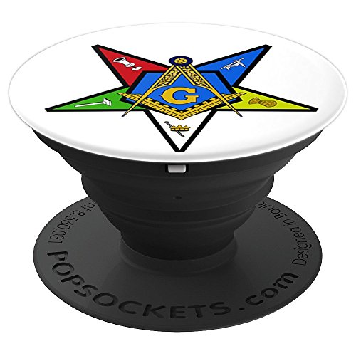 Worthy Patron OES Eastern Star Masonic - PopSockets Grip and Stand for Phones and Tablets