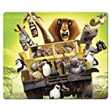 30x25cm 12x10inch Game Mouse Mats cloth + rubber cloth Surface smooth Madagascar Escape 2 Africa