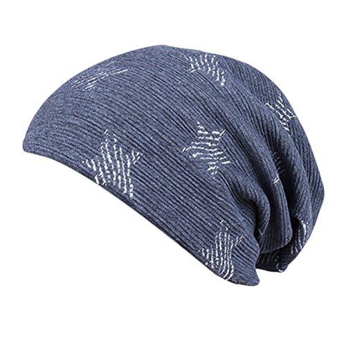 Adult Invierno Warm Al Star aire Sombreros De Beanie Thick libre Cap punto Printing Unisex gris Stretch Fashion Zhhlinyuan Slouchy w0IAtqA