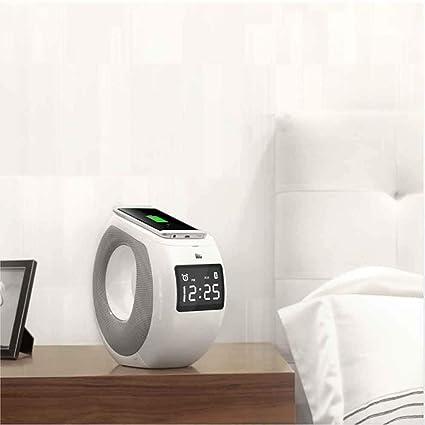 NF Inalámbrico Carga Bluetooth Altavoz Despertador 3 En 1 Qi ...
