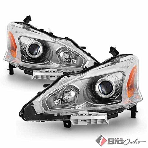 - Xtune 2013-2015 Altima 4-Door Sedan Projector Headlights Driver+Passenger Pair L+R 2014