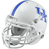 NCAA Schutt Kentucky Wildcats Full Size Authentic Football Helmet - White