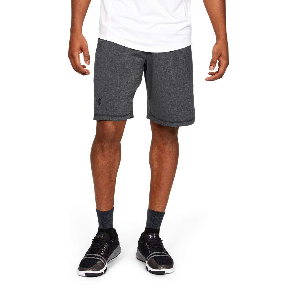 Under Armour Men's Raid 10'' Shorts, Carbon Heather /Black, Small