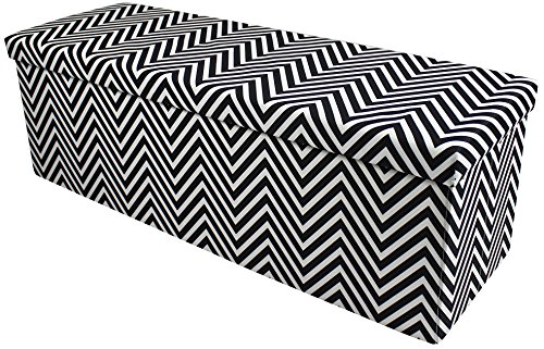 Outstanding Sorbus Chevron Storage Ottoman Bench Foldable Collapsible With Lid Cover Perfect Hassock Foot Stool Toy Storage Chest And More Large Bench Inzonedesignstudio Interior Chair Design Inzonedesignstudiocom