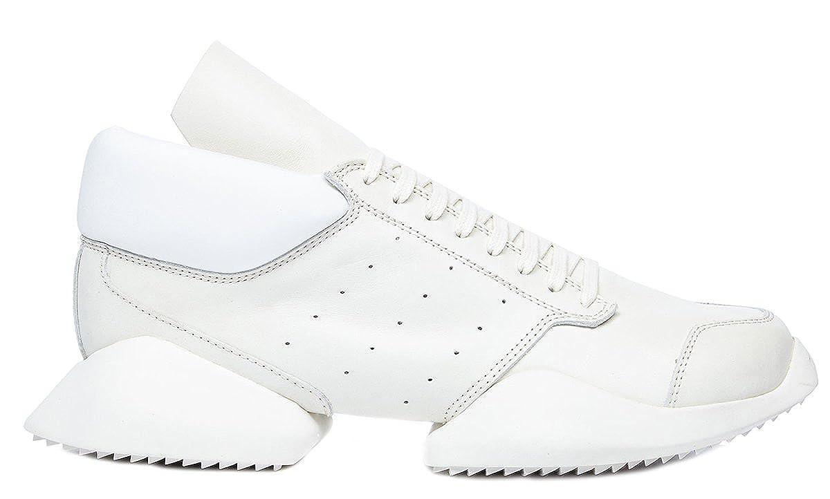 57322b9534468 Adidas X Rick Owens Men's Tech Runner Sneakers RM16S3820 LM 11 Milk ...