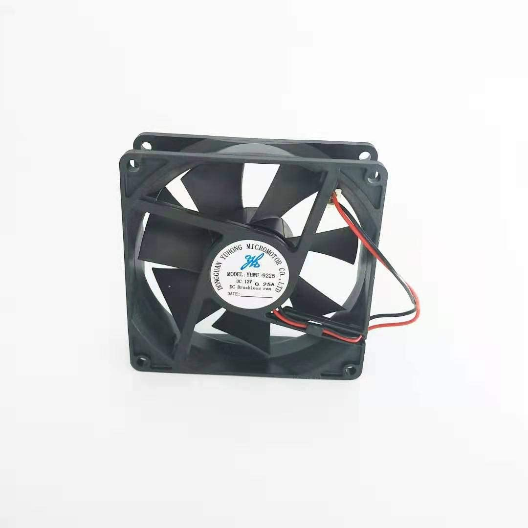 DC brushless 80x80x25 Cooling Fan 12V 0.2A Natural and Co
