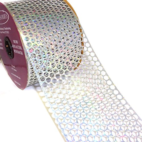ACI PARTY AND SPIRIT ACCESSORIES Honeycomb/Punchinello Ribbon Holographic (Honeycomb Ribbon)