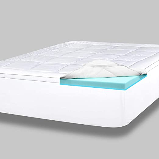 Amazon.com: ViscoSoft 4 Inch Pillow Top Memory Foam Mattress