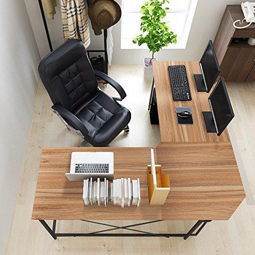 SogesHome L-Shaped Desk 59