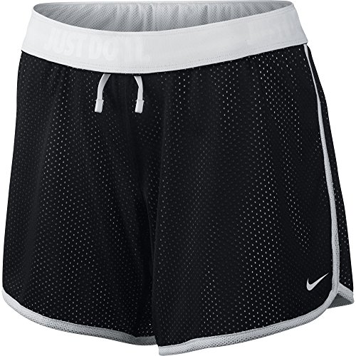Price comparison product image Women's Nike Drill Mesh Training Short Black/White Size Small