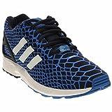 adidas Men's ZX Flux Bluebird/Collegiate Navy/White Mesh Running Shoes 8 M US For Sale