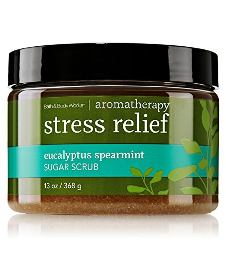 Spearmint Sugar - Bath & Body Works AROMATHERAPY Stress Relief Eucalyptus Spearmint Sugar Scrub 13 Fl Oz