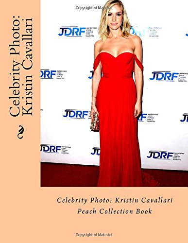 Celebrity Photo: Kristin Cavallari: Peach Collection Book
