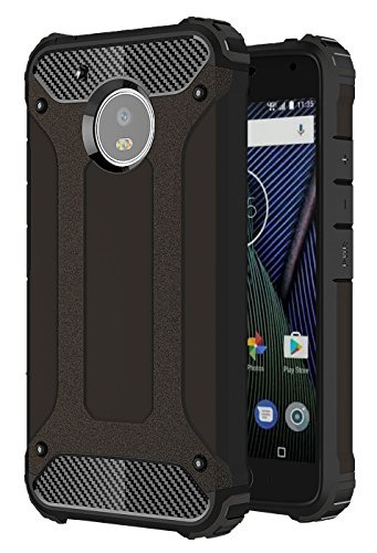 Moto G6 Plus Case, Torryka Drop Protection Sleek Slim Fit Durable Anti-scratch Dual Layer Shockproof Dustproof Armor Cover Case For Motorola Moto G Plus 6th Generation (Black)