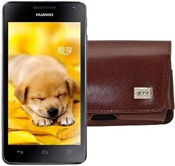 MTT – Funda para Huawei U9508 Honor 2/Horizontal Funda de piel ...