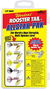 Yakima Bait Rooster Tail 1/8oz Box Kit- Allstar Pak Mix