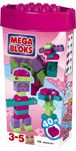 MEGA Bloks Miniblocks Tote Pink, Baby & Kids Zone