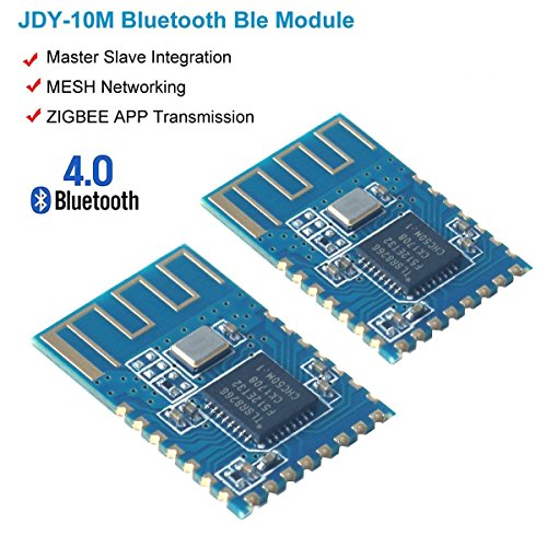 Price comparison product image MakerHawk 2pcs JDY-10 Bluetooth Ble 4.0 Module Arduino Bluetooth Transceiver Module ZIGBEE APP High Speed Transparent Transmission Mesh Networks Networking Master Slave Integration Android IOS