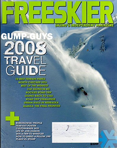 - Freeskier November 2007 Skiing's Independent Magazine LIFE OF JON OLSSON How To Shred A Pillow Line