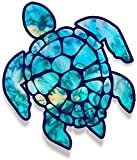 3 inch Sea Turtle Sticker for Laptops Cups Tumblers Cars and Trucks Any Smooth Surface (Cyan Dream)
