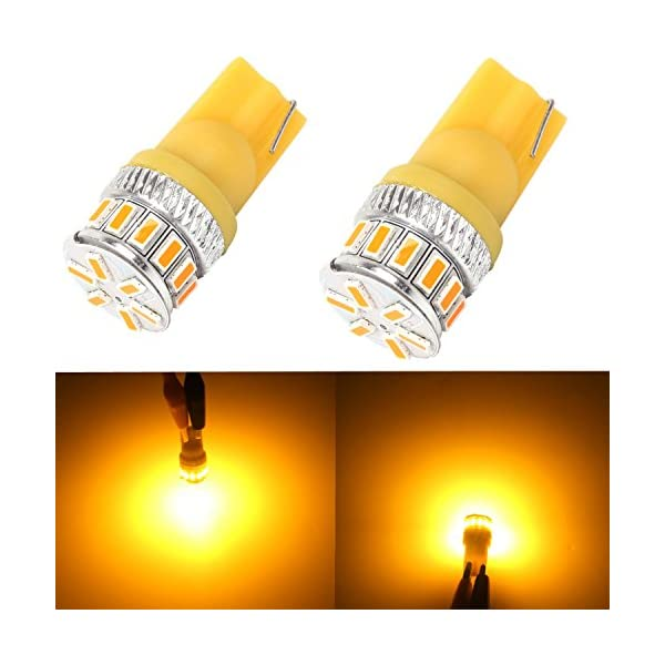 Alla Lighting 194 168 2825 175 W5W 158 161 192 T10 Wedge Super Bright High Power 3014 18 SMD LED Lights Bulbs For…