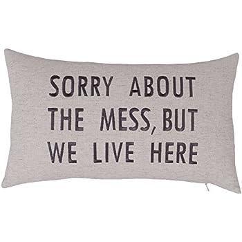 Amazon Com Decorhouzz Pillowcase Farmhouse Embroidered