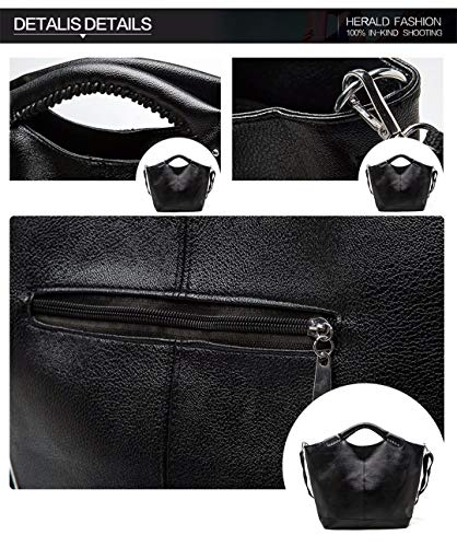Grande PU Mode Casual Capacit Sac Rivet qAIA5