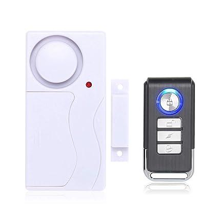Mengshen Wireless Door Window Security Alarm with Remote Control - 1 Alarm 1 Remote Control M64