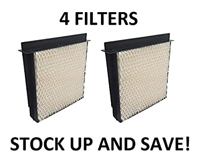 Heating, Cooling & Air Humidifier Filter for Bemis Essick Air 1040 Super Wick - 4 Pack