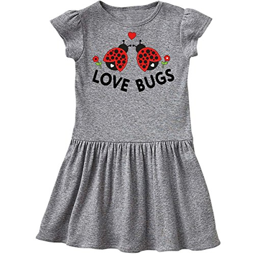 inktastic - Love Bugs Red Ladybugs Toddler Dress