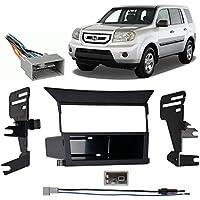 Fits Honda Pilot 2009-2011 Single DIN Stereo Harness Radio Install Dash Kit