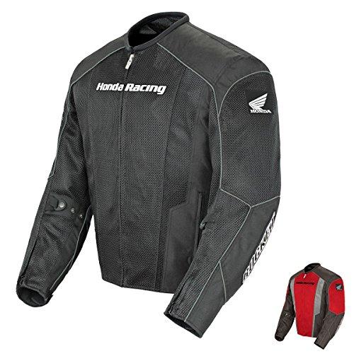 Joe Rocket Honda Racing CBR Mesh Jacket Black/Black Mens 3XL