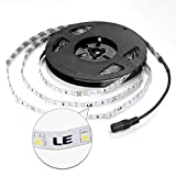 LE  16.4ft 12V Flexible LED Strip Lights, Blue, 82 Lumens / 1.5 Watts per foot, 300 Units 3528 LEDs, Non-waterproof, Light Strips, LED Tape
