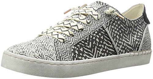 Dolce Vita Donna Sneaker Z-punk Fashion Nero / Bianco Nabuk